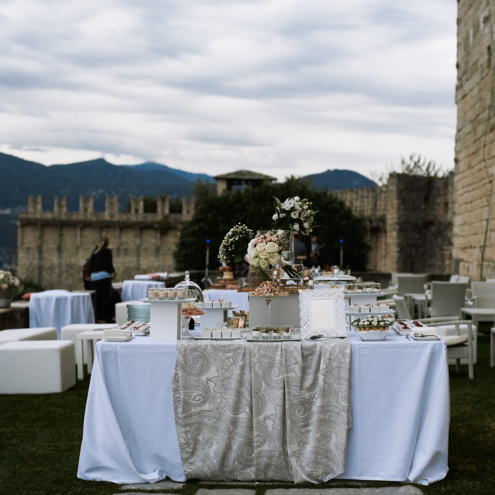 Wedding at Fortress Rocca Di Angera Borromeo